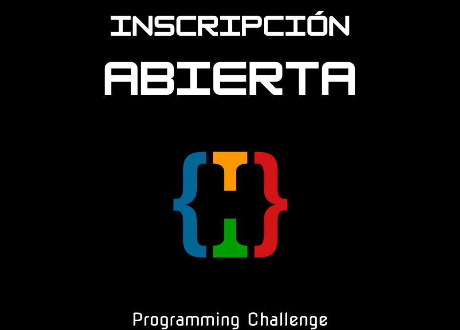 Ya están abiertas las inscripciones para el Programming Challenge 2021